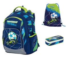 Karton P+P šolski nahrbtnik OXY Style Mini football blue