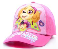 """SETINO Lány baseball sapka """"Mancs örjárat"""" - világos rózsaszín"""