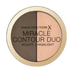 Max Factor Konturovací a rozjasňující paletka Miracle Contour Duo (Sculpt + Highlight) 11 g