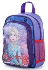 Karton P+P Dětský předškolní batoh flitry Frozen