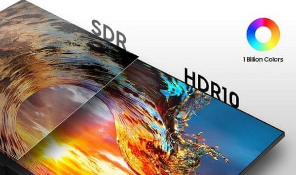 monitor Samsung T85F (LF27T850QWUXEN) synchronizace fps AMD FreeSync