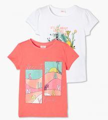 s.Oliver 2pack dívčích triček 403.10.104.12.130.2103242