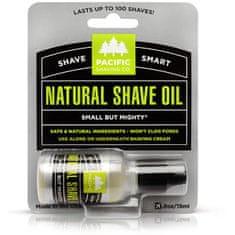 Pacific Shaving Pánský přírodní olej na holení Natural (Shave Oil) 15 ml