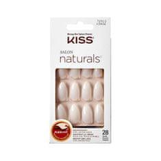 KISS Přírodní nehty vhodné pro lakování 70910 Salon Naturals (Nails) 28 ks