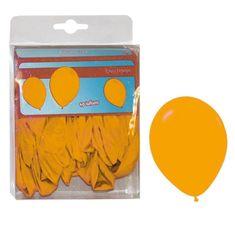funny fashion Balónky oranžové - 40ks