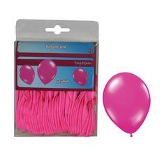funny fashion Balónky růžové - 40ks