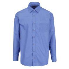 STEVULA Modrá Royal pánska košeľa, Regular fit