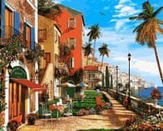 Kouzelný Art Malování podle čísel Středomořský přístav