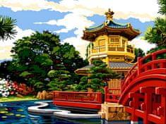 Kouzelný Art Malování podle čísel Hongkongský park