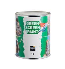 MagPaint GreenScreenPaint, ZELENA MAT barva za scenska ozadja 1 liter