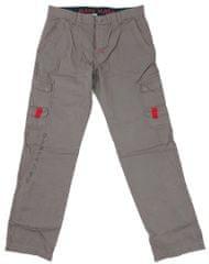 MAYA MAYA Moške cargo hlače Tukano - pohodne, treking, delovne - sive