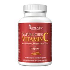 Biomenta Naravni vitamin C - 120 kapsul