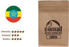 ZrnkovéKávy.sk Nômad Etiópia Sidamo Gr. 2 / Yergacheffe - zrnková káva