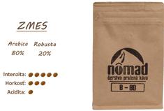 ZrnkovéKávy.sk Nômad B-80 - zrnková káva