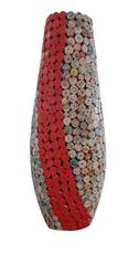 BIRIDA Dekorativní váza barevná úzká RC226 - 60 cm