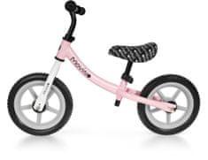 Movino Otroški poganjalec CLASSIC, 12 inčna kolesa, roza - siv R-005-RS