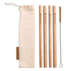 GoodWays GoodStraw bambusová brčka 4 ks