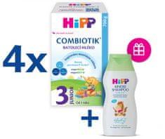 HiPP 3 Junior Combiotik Batoľacie mlieko 4x700 g