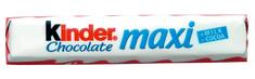 KINDER KINDER MAXI čokoláda 21,000g (bal. 36ks)