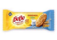 OPAVIA BE BE dobré ráno sušienky 4 cereálie s mliekom 50,000g (bal. 30ks)