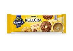OPAVIA ZLATÉ kolieska maslové v mliečnej čokoláde 146,000g (bal. 12ks)