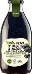 Zdravo  šťava 100% jablkovo-aróniová 0,750l (bal. 6ks)