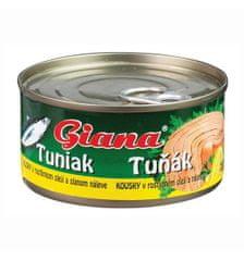 Rio Mare GIANA tuniak kúsky v slnečnicovom oleji 185,000g (bal. 48ks)