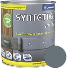 Chemolak Syntetika S2013U 1100 šedá 0,6l - vrchná farba lesklá