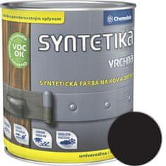Chemolak Syntetika S2013U 1999 čierna 0,3l - vrchná farba lesklá