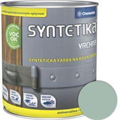 Chemolak Syntetika S2013U 1010 holubia šeď 0,6l - vrchná farba lesklá