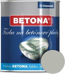 Chemolak U2043 Betona 1038 sivá 0,75l - farba na betón