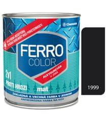 Chemolak Ferro Color U2066 Mat 1999 čierna 2,5l - základná a vrchná farba na kov
