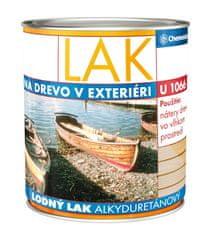 Chemolak Lodný lak U1066 2,5l - alkyduretánový lesklý transparentný lak na drevo