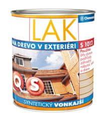 Chemolak Lak S1012 0,75l - syntetický vonkajší lesklý transparentný lak na drevo
