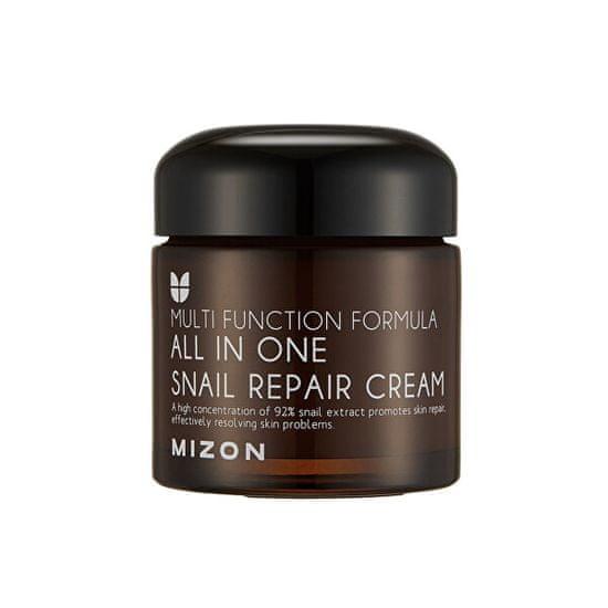 MIZON Regeneračný pleťový krém s filtrátom slimáčieho sekrétu 92% (All In One Snail Repair Cream) (Objem 75 ml)