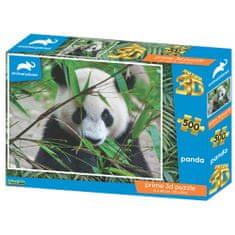 National Geographic 3D sestavljanka panda, 500 kosov, 61 x 46cm