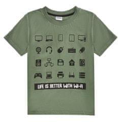 WINKIKI chlapecké tričko WTB01772-140