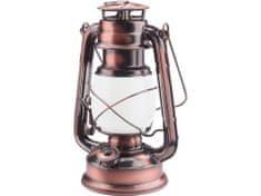 Extol Light Petrolejka, 38x LED (plameň) + 17x LED (biela), 4x 1,5V(AA), kov/sklo, 15x11,5x23,5cm