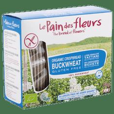 Le Pain des Fleurs Chrumkavý chlebíček pohánkový bez soli (150 g)