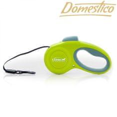 Domestico Samonavíjecí vodítko Easy Lock 3m/12kg, zelené