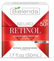 Bielenda NEURO RETINOL hydratačno-omladzujúci pleťový krém 50+ deň/noc 50ml