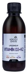 Adelle Davis Lipozomálny vitamín D3+K2, 200ml