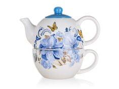 Banquet imbryk z filiżanką BLUE FLOWER