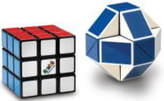 Rubik Rubikova kocka súprava retro (snake + 3x3x3)