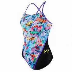 Michael Phelps Dámske plavky VINTAGE RB