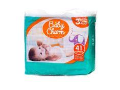 Baby Charm Super Dry Flex 3 Midi, 4-9 kg, 41 ks