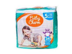 Baby Charm Super Dry Flex 5 Junior, 11-25 kg, 34 ks