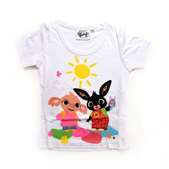 """SETINO Dievčenské tričko """"Bing"""" - biela - 122 / 6–7 rokov"""