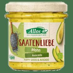 Allos Nátierka ~ avokádová s makom (135 g)