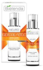 Bielenda NEURO GLICOL + VIT. C exfoliačné omladzujúce sérum noc 30ml